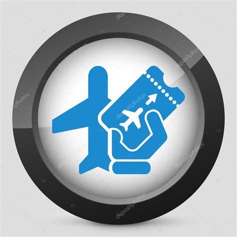 airfare icon stock vector 169 myvector 39477713