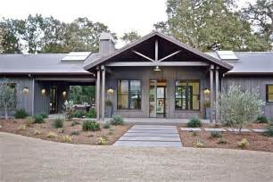 ranch home plans with front porch ranch house farmhouse revival time to build