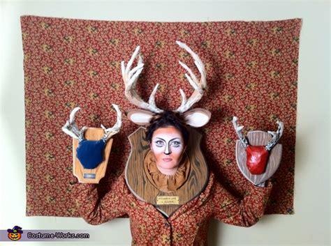 wall  taxidermy halloween costume photo
