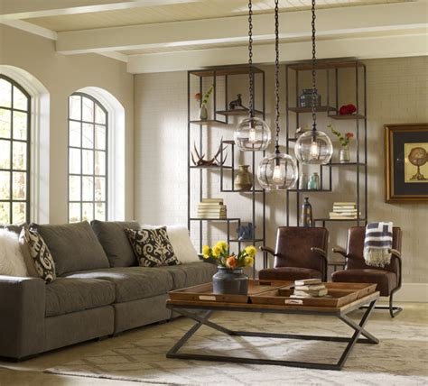 loft livingroom design industrial living room los