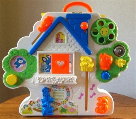 Baby Crib Activity Center Vintage Busy Box Fisher Price Musical Activity Center 1100 Crib