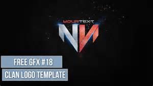 Gfx Psd Templates by Clan Logo Psd Free Gfx 18 Editable Template