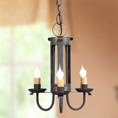 ceiling candle lights country tin pendant ceiling light 3 candle chandelier made