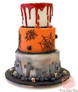Eerie Halloween Decorations - halloween wedding cake 187 halloween cakes