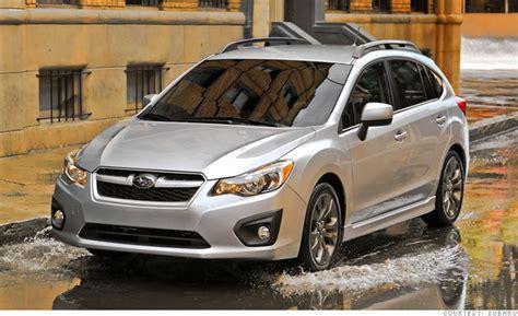 small subaru car consumer reports names most reliable cars small car subaru