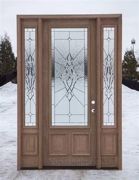 8 Ft Exterior Doors with 8 Foot Mahogany Exterior Door Cl 101