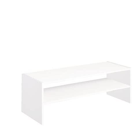 horizontal closet organizer closetmaid 174 31 inch horizontal stackable organizer