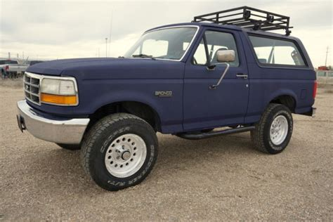auto air conditioning service 1993 ford bronco parental controls 1993 ford bronco custom 4x4 a c low mileage classic rust free bronco