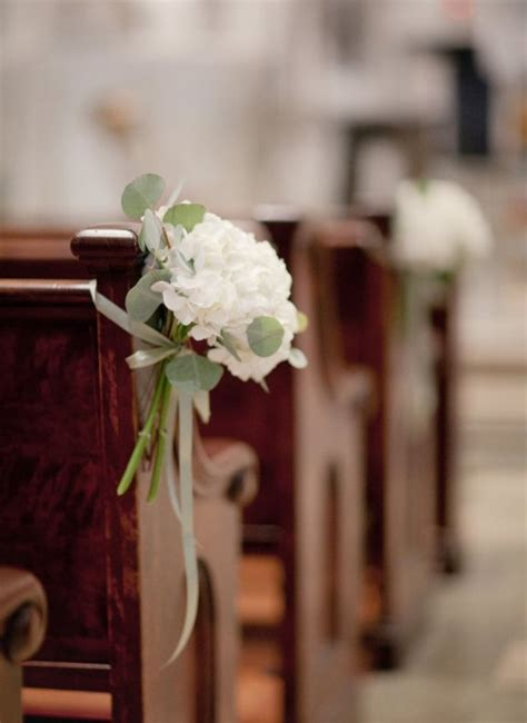 Wedding Pew Decorations by Church Ceremony Decorations Archives Weddings Romantique