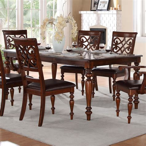 articles with value city furniture formal dining room sets homelegance creswell traditional formal dining table with