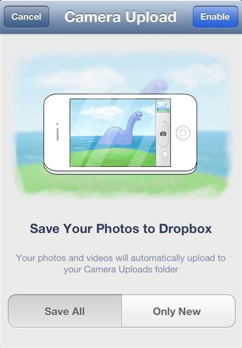 dropbox iphone how to automatically upload photos to dropbox from your