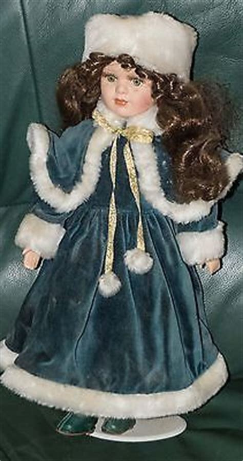 porcelain doll green dress doll quot s of buty on