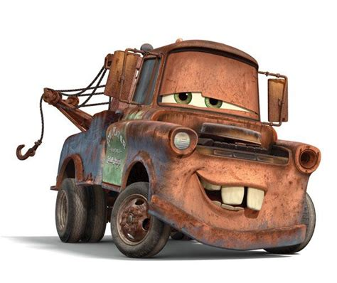 cars characters mater favorite character in cars mater all about me