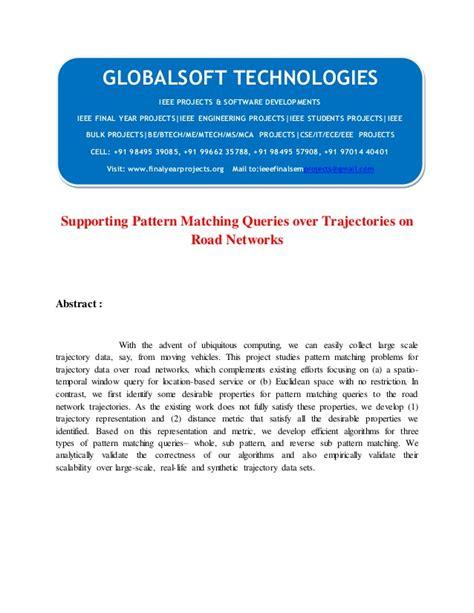 pattern matching data mining 2014 ieee dotnet data mining project supporting pattern