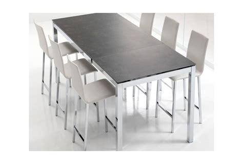 table haute de cuisine avec tabouret table cuisine avec chaises table cuisine chaise sur enperdresonlapin