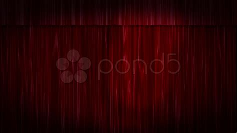 black stage drapes red velvet curtains black stage stock video 599155