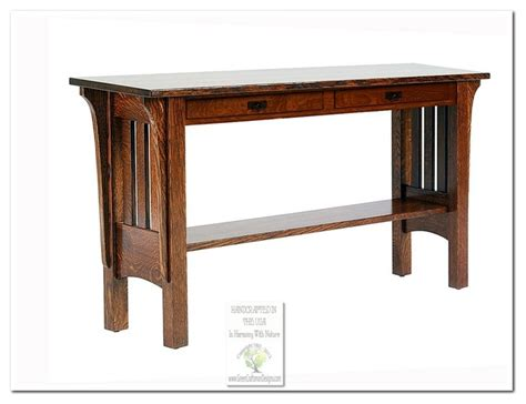 Mission Style Console Table by Mission Console Tables Craftsman Console Tables