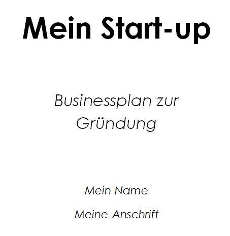 businessplan zmq unternehmensgruendung