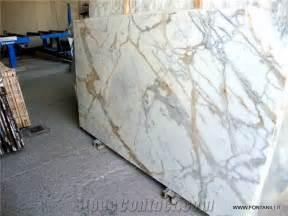 calacatta gold marble slab own quarry from italy