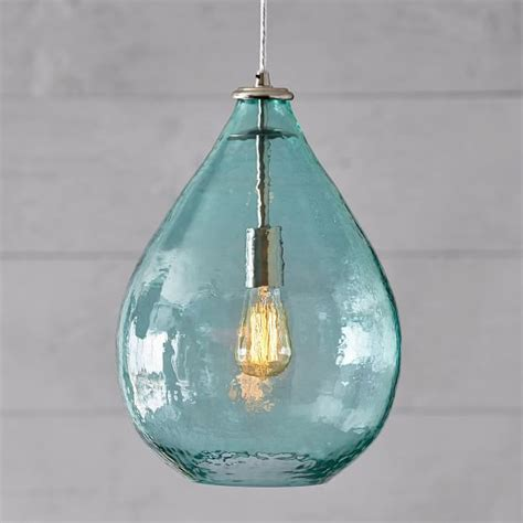Oversized Pendant Lights Oversized Light Pool Glass Waterdrop Pendant Pbteen