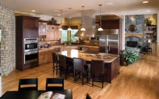 home plans with large kitchens ultimate kitchens luxury kitchens house plans and more