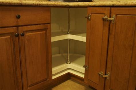 Rotating Corner Cabinet by W L Rubottom Co Custom Kitchen Bathroom Cabinet