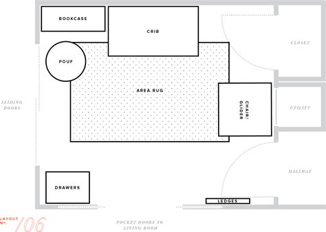 nursery school floor plan the 15 best nursery floor plans house plans 1199