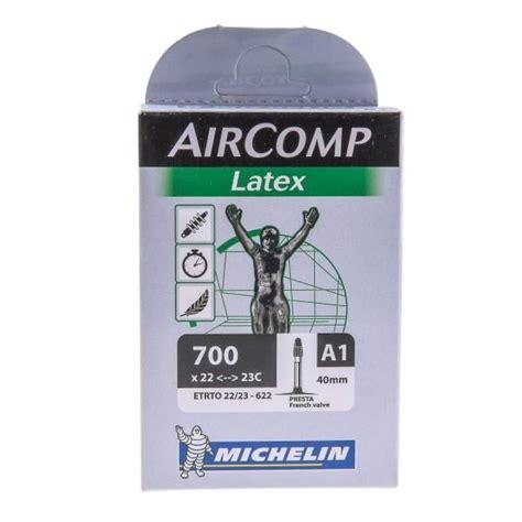chambre 224 air michelin aircomp 700x22 23c valve 40