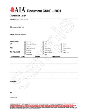 drawing transmittal form template aia transmittal form fill printable fillable
