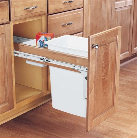 trash can storage cabinet woodwork wooden storage for kitchen garbage can pdf plans