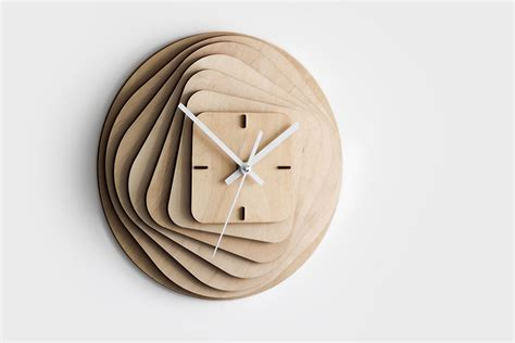 wood clock designs 25 modern wall clocks that will change your view on time