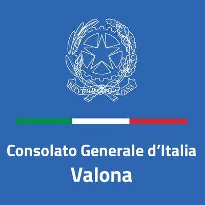consolato italiano a valona italy in valona italyinvalona