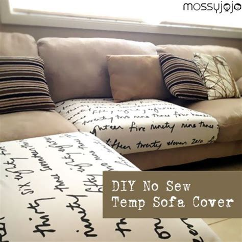 sew sofa cover 10 best ideas about no sew slipcover on pinterest couch