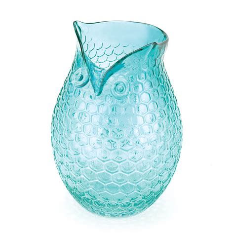 aqua pop owl vase wholesale at koehler home decor