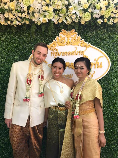 thailand wedding traditions thai traditional wedding ceremony learn thai with mod