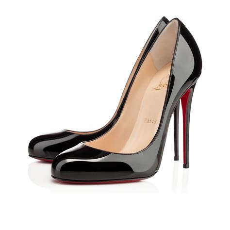fifi 120 black patent leather shoes christian