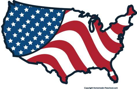 American Clipart free american flags clipart