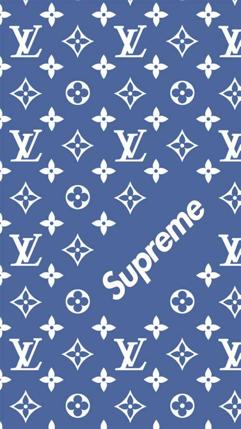 louis vuitton pattern louis vuitton x supreme pattern wallpaper wallpapers