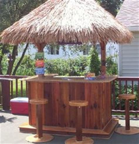 Make A Tiki Bar How To Build A Tiki Bar Easy Woodworking Projects Plans