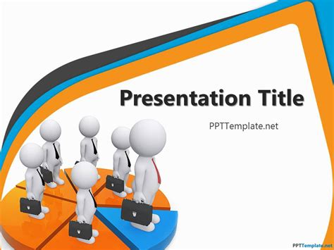 free template presentation powerpoint free network ppt template