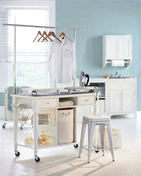 Laundry Room Storage Systems Laundry Room Carts 12 Mobile And Space Savvy Ways To Organize