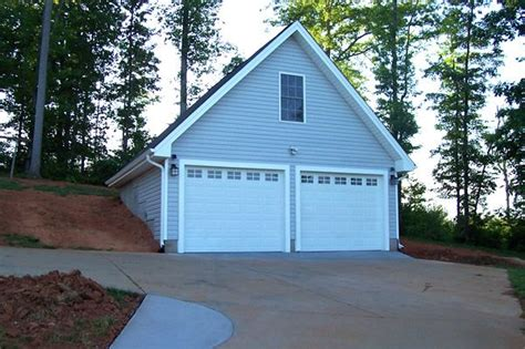 Hillside Garage Plans by 2 Car Garage With Bonus Room Built Into A Hillside Our