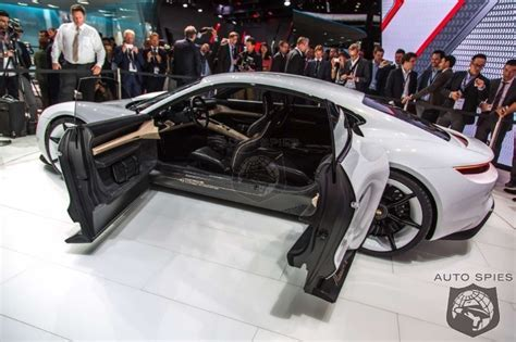 porsche tesla price porsche ready to mop up tesla with mission e but at what