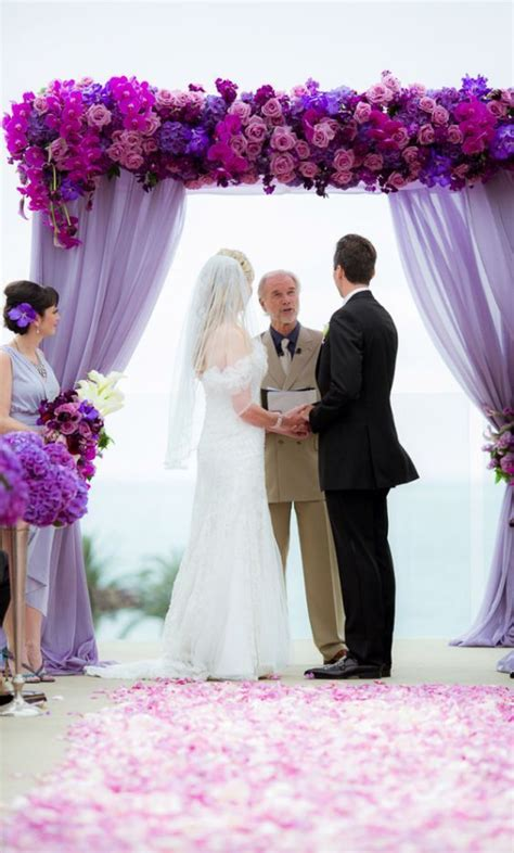 Wedding Arch Purple by 17 Best Images About Wedding Decor Ideas On