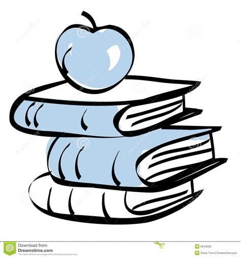 imagenes a blanco y negro de matematicas libros y manzana de escuela fotos de archivo imagen 6244593