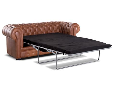 canap 233 chesterfield 3 places convertible cuir londres