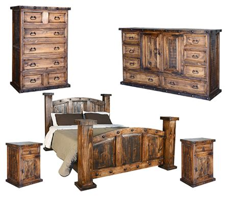 Rustic Bedroom Furniture Sets by Rustic Wood Bedroom Set Rustic Bedroom Set Pine Wood