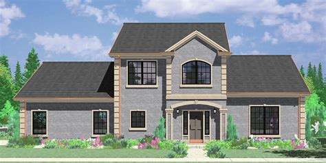 two story house plans with side garage colonial house plans dutch southern and spanish home styles