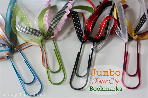 How To Make Paper Clip Bookmark - crafts made with paper