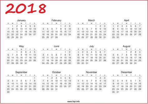 Print Calendar 2018 Free Headers Covers Wallpapers Calendars